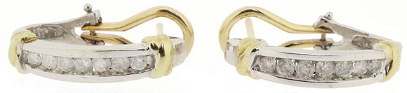 9ct Gold 0.40ct Diamond Stud Earrings
