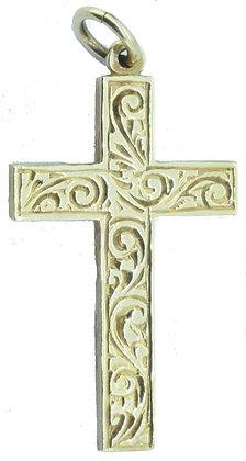 Yellow Gold Sheffield Cross Pendant
