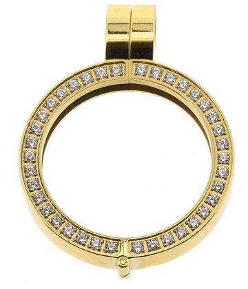 Medium Gold Plated Pendant