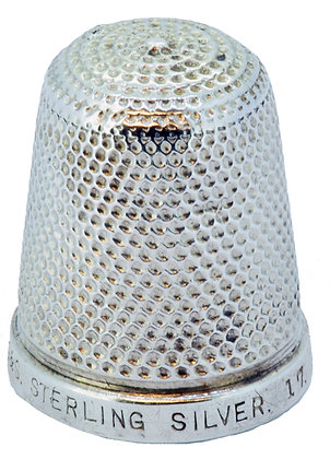 Silver HGS The Spa Thimble