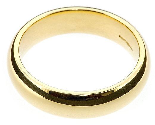 18ct Gold 6mm Premium Court