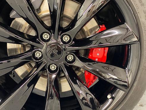 Tesla Model S Wheels Coating at New Image Paint Protection