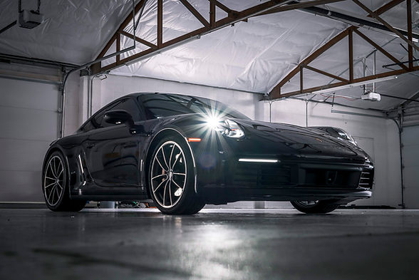 Porsche Paint Protection at New Image Pa