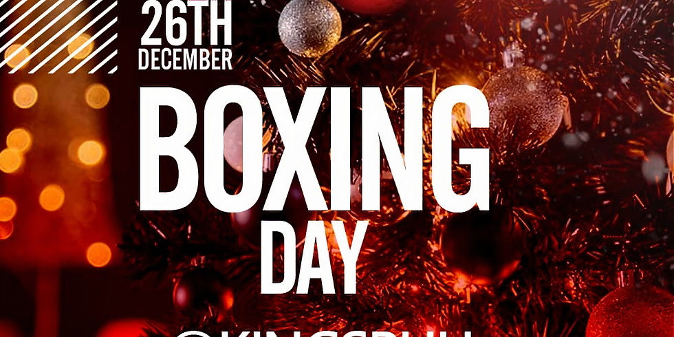 Boxing Day Party (£5)