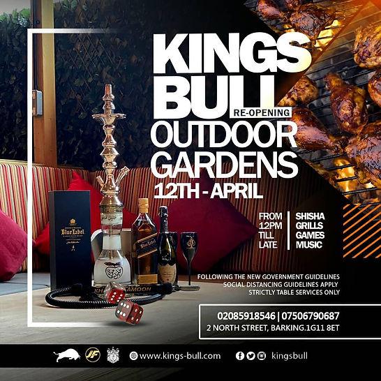Kings Bull Garden Bar