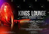 Kings Lounge - Your weekend sorted!...