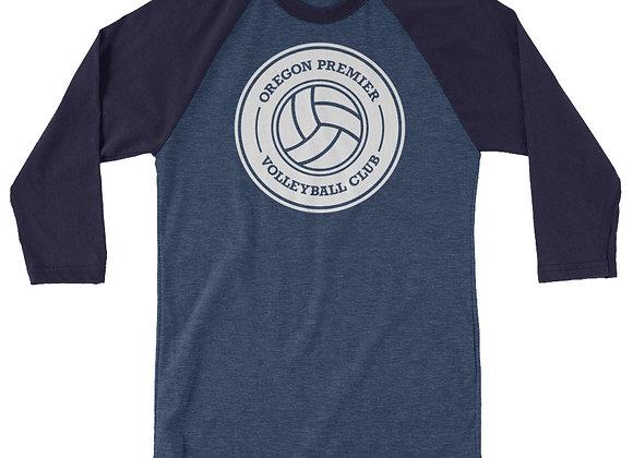 OPV 3/4 sleeve raglan shirt
