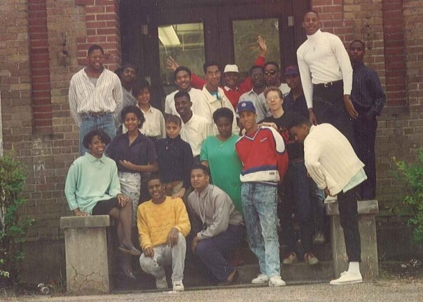 Freshman-Architecture Class 1987 in their 2ndYr 1988