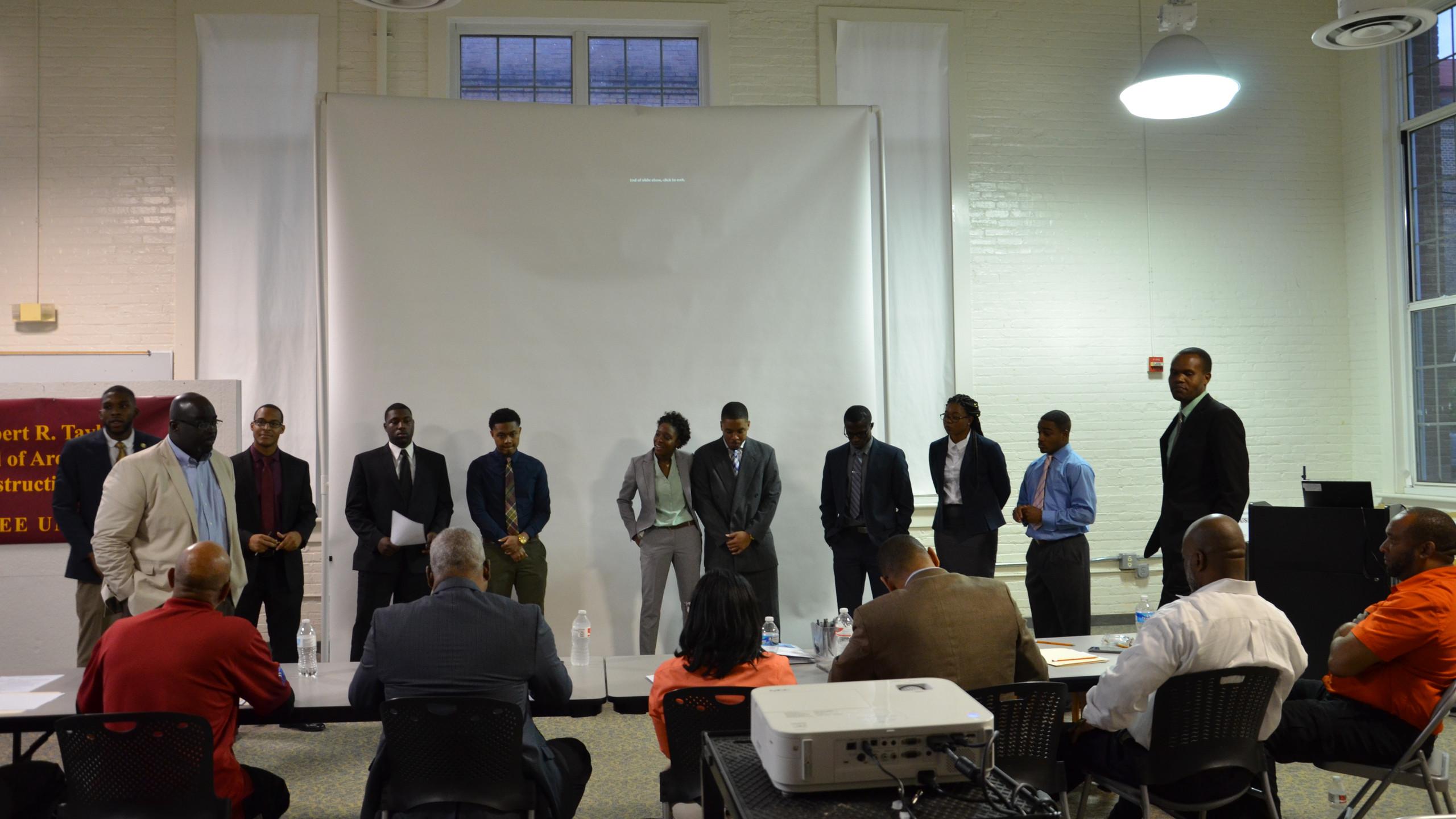 2016 Capstone Presenters