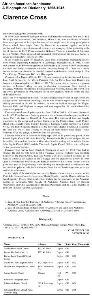 Wishing Alumnus Clarence Cross a Happy 100th Birthday!