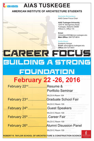 2016 AIAS Tuskegee Career Focus