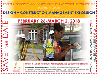 SAVE THE DATE! DESIGN + CONSTRUCTION MANAGEMENT EXPOSITION!