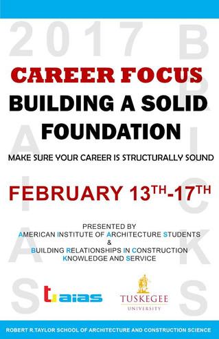 Participate in the 2017 Career Focus!