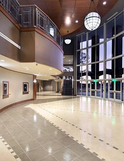 Ray Charles Performing Arts Interior