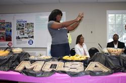 MOSA Opening Reception, Alumnae Monica Fenderson (Atlanta, GA)
