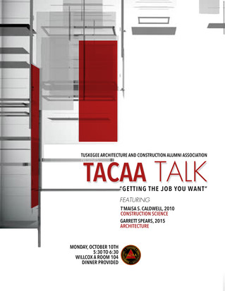 """TACAA Talk: """"Getting the Job you Want"""""""