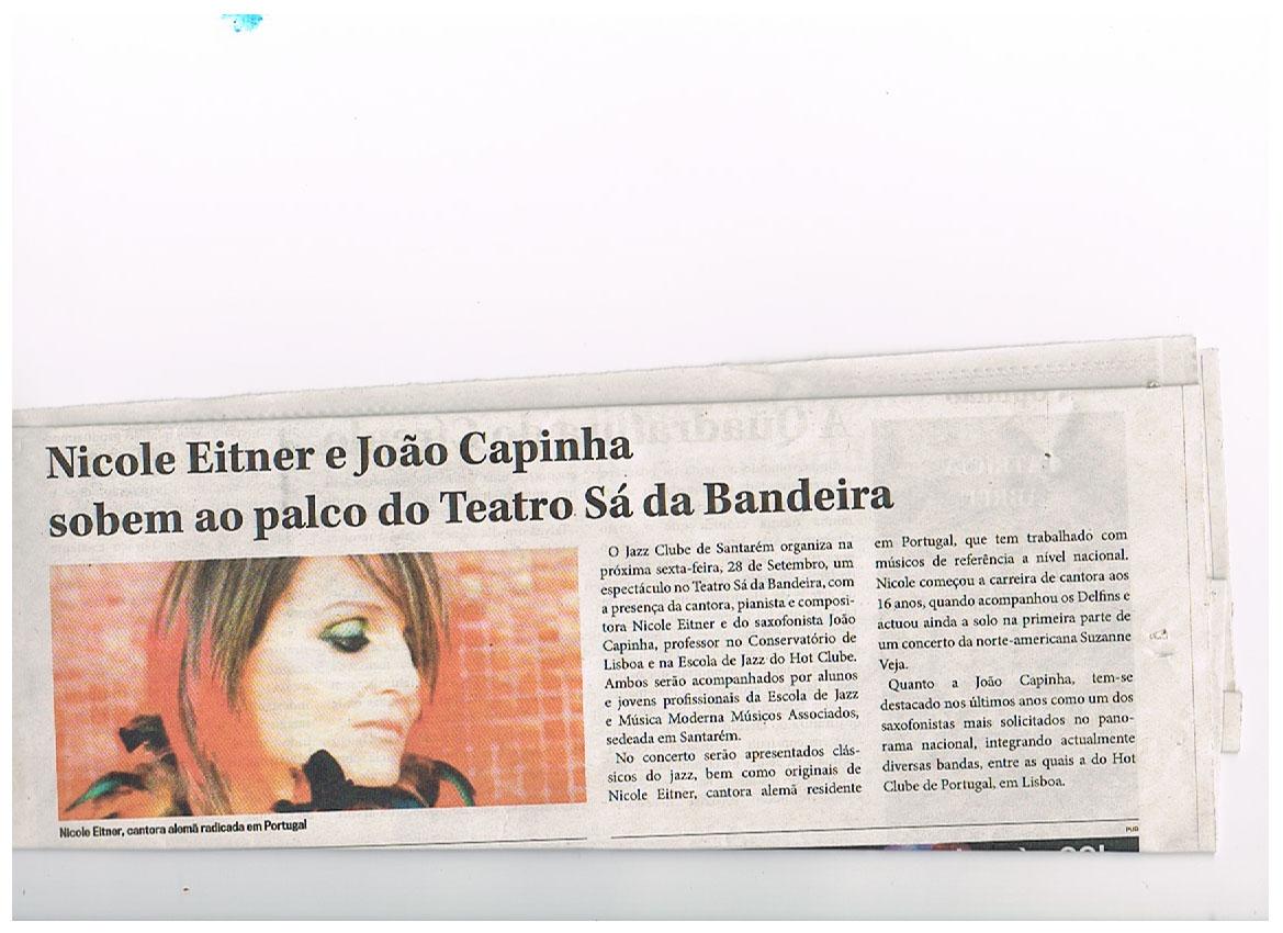 Nicole Eitner e João Capinha