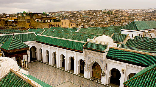 Al-Qarawiyyin: world odest university at Morroco Fez by Sahara Sky Tour Package