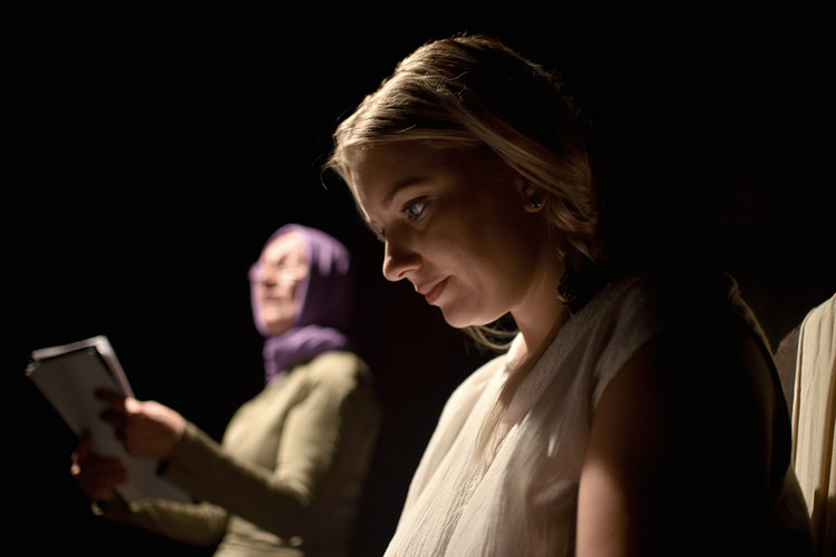 Eva Reiterová (Kateřina) a Malvína Pachlová (Johanka)