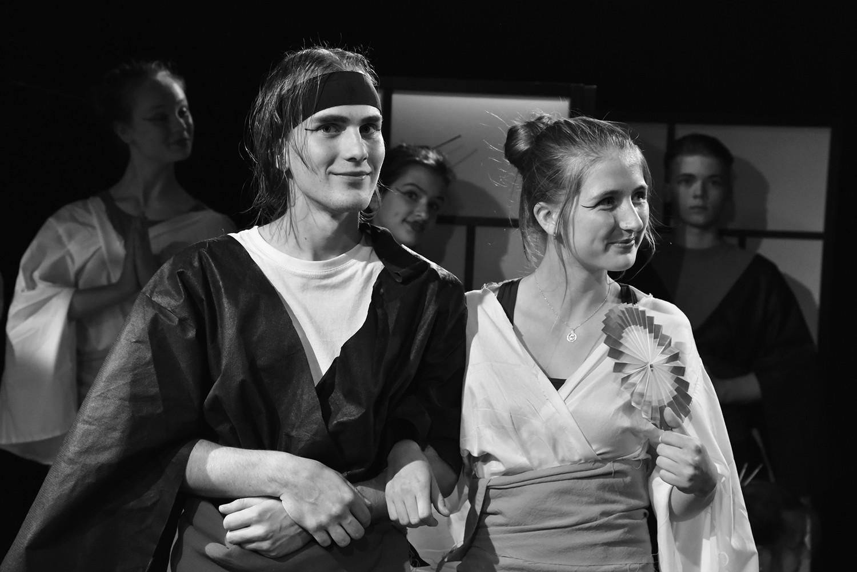 David Karban (Nanki-Po) a Anna Černoušková (Yum-Yum)