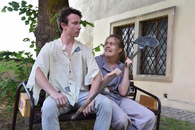 Jaroslav Chaloupka a Kateřina Šťastná (únosci)