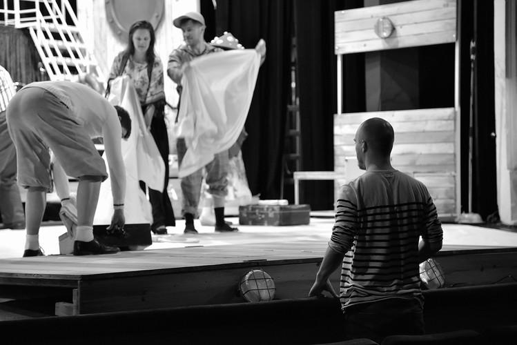 zatiší s režisérem (Adam Doležal) - 6. týden zkoušení