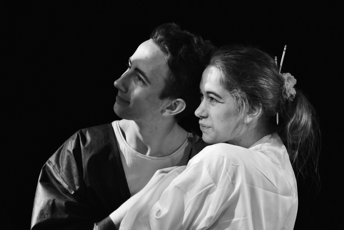 Jaroslav Chaloupka (Nanki-Po) a Anita Bonková (Yum-Yum)