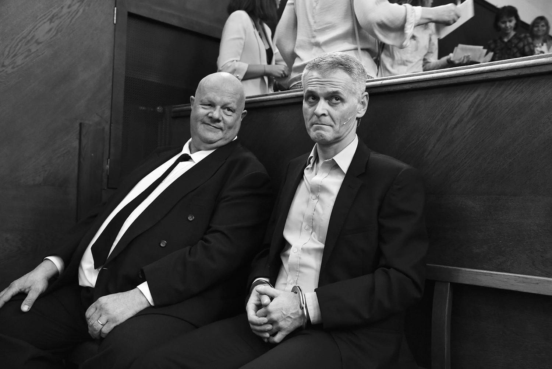 Pavel Nedvěd (justiční stráž) a Radim Madeja (Lars Koch)