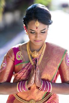 South Asian Bridal Makeup and Hair