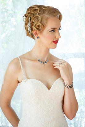Classic Bridal Makeup and Hair