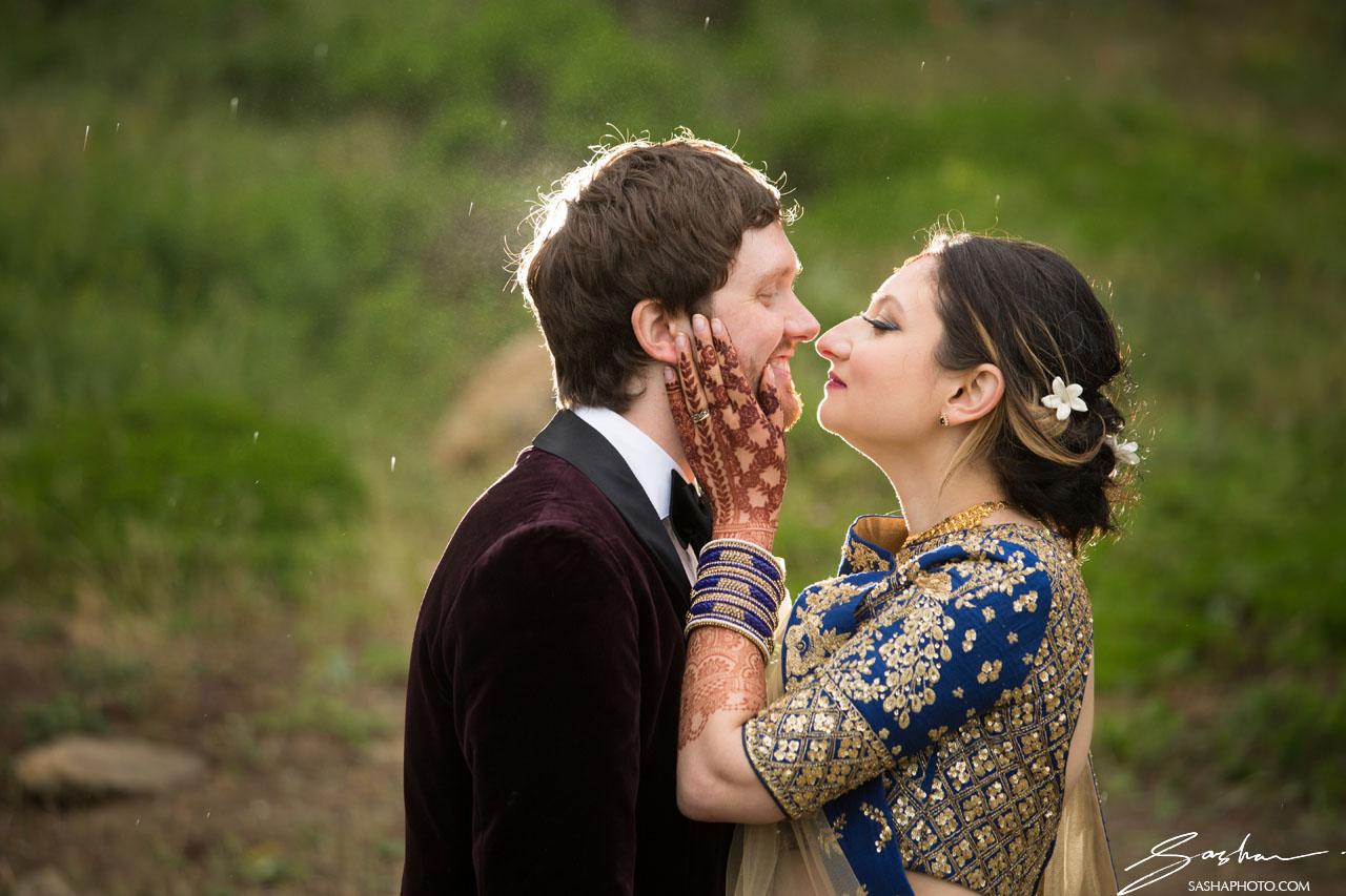Biracial Indo-Canadian Bride