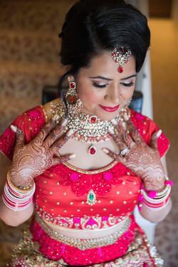 South Asian Bridal Hair & Makeup