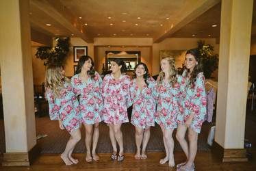 Bride and Bridal Party Hair and Makeup