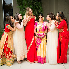Indian Bridal Party Makeup and Hair Artist in Bay Area