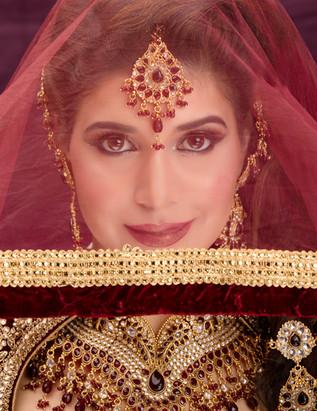 Glamorous Bridal Hair and Makeup