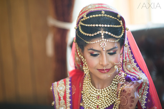Hair and Makeup for the Indian Bride