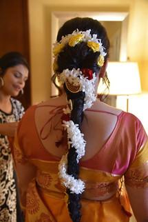Cultural Fusion Bridal Makeup and Hair