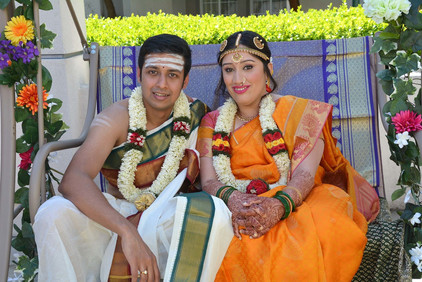 Cultural Fusion Indian Bride