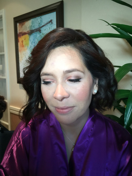 Airbrush Makeup for the Lovely Birdesmaid