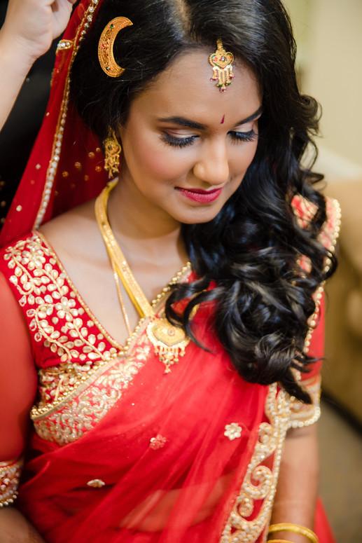Nepalese Bridal Hair and Makeup