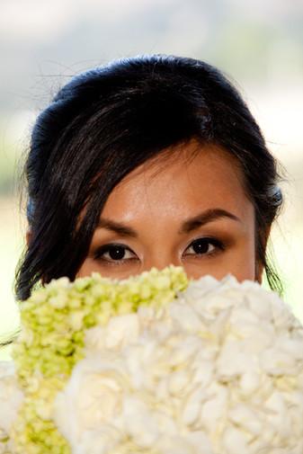 Bronze Smokey Bridal Eyes