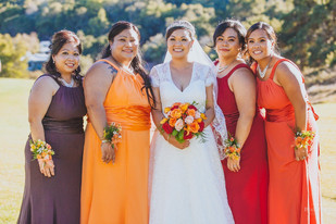 Airbrush Makeup and Hairstyles for the Bridal Party