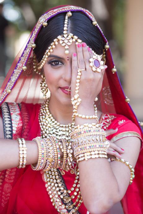 South Asian Bridal Hair and Makeup