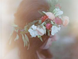 Bohemien Bridal Hairstyle