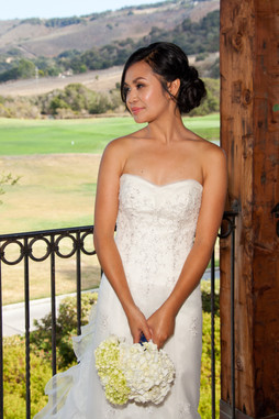 Natural Bridal Makeup & Elelgant Updo