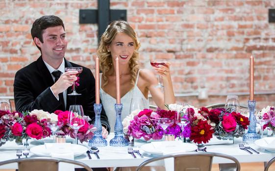 Fall Themed Modern Wedding