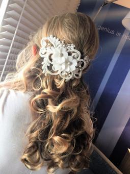 Halfup Bridal Hairstyle