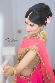 Reception Bridal Hair & Makeup