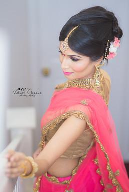 Reception Bridal Hair & Makeup