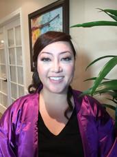 Bridesmaid's Airbrush Makeup And Hair